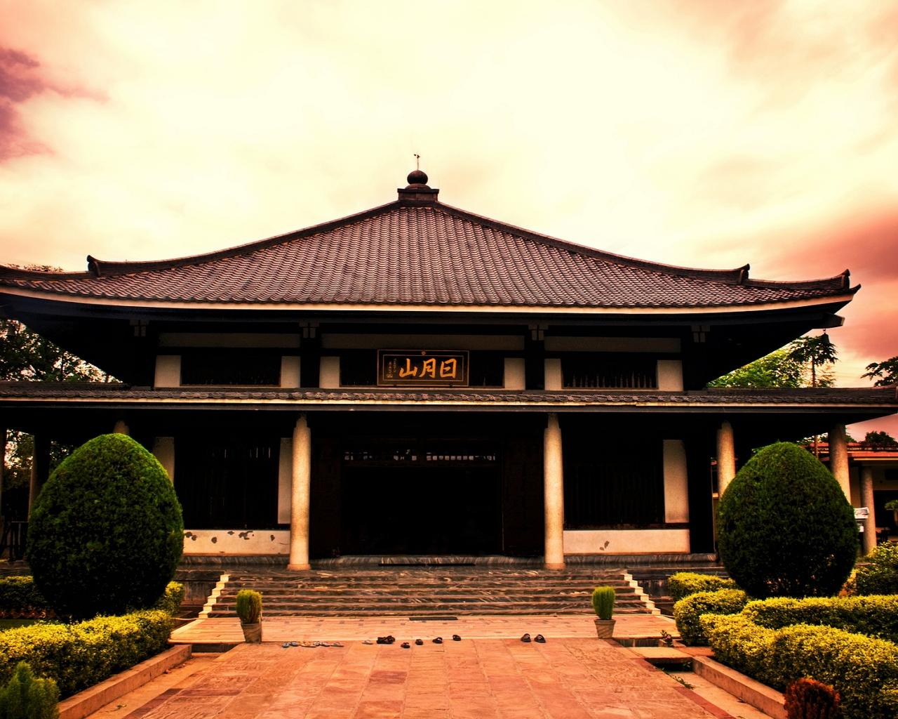 Modelo de casas de japon antiguas - 1280x1024