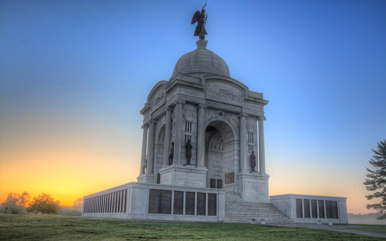 Monumento en Pennsylvania - 1440x900
