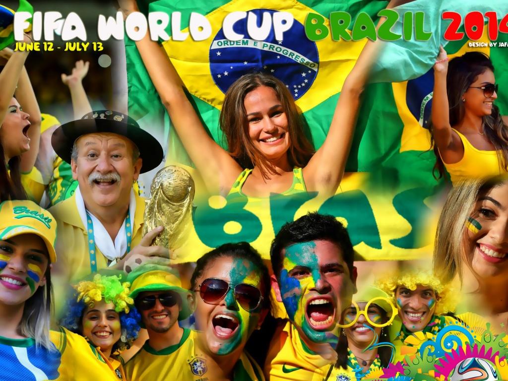 Mundial Brasil 2014 - 1024x768