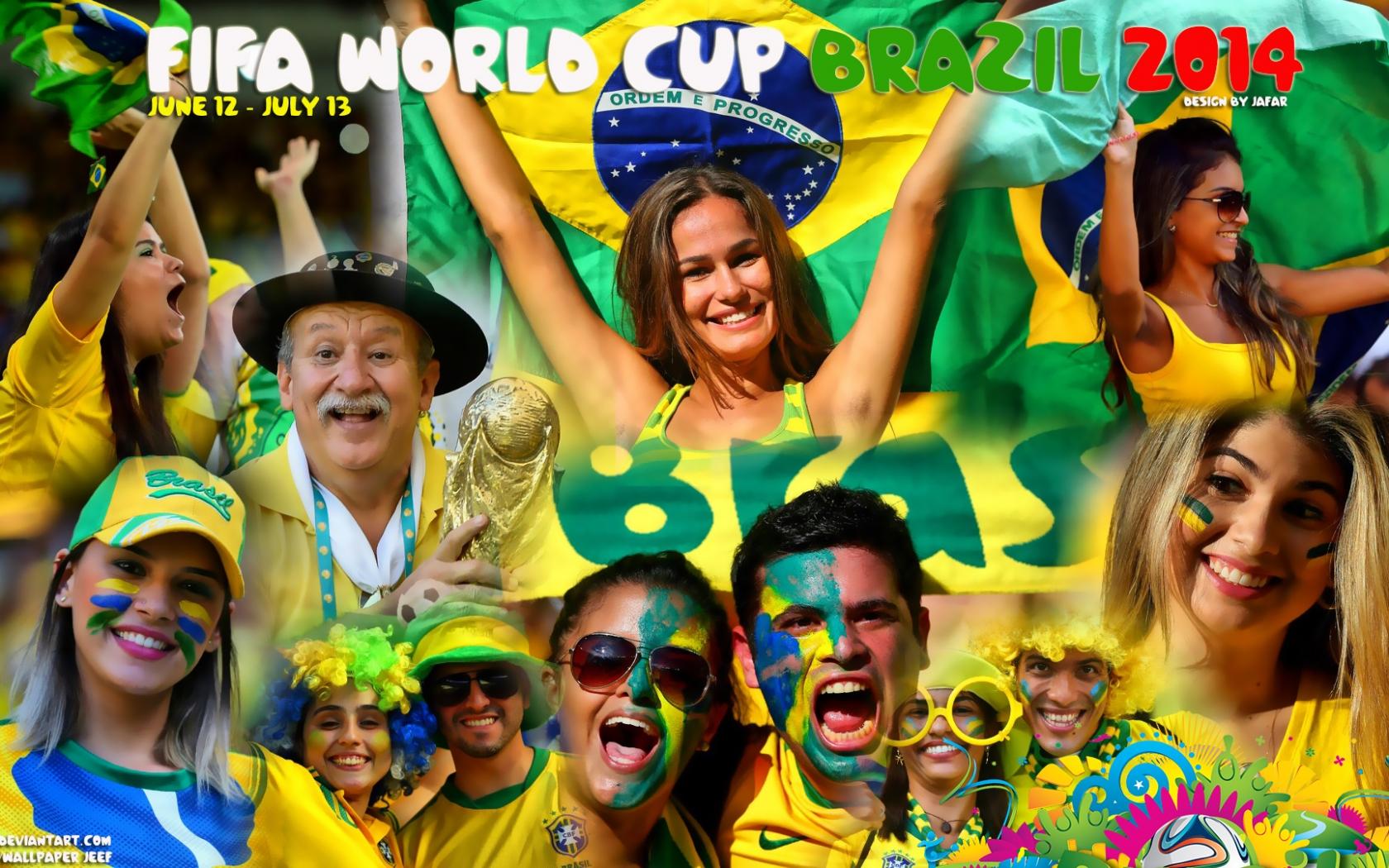 Mundial Brasil 2014 - 1680x1050