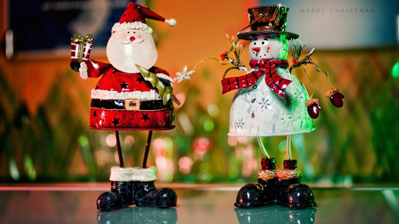 Muñecos de alambres para navidad - 1280x720
