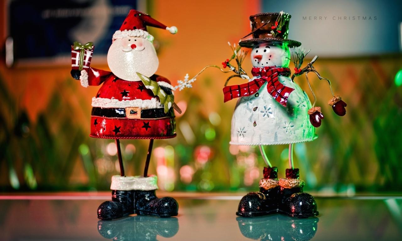 Muñecos de alambres para navidad - 1280x768