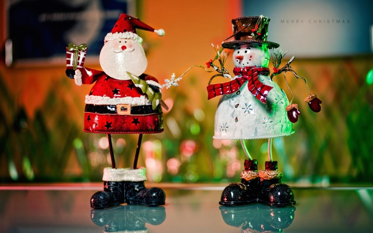 Muñecos de alambres para navidad - 1280x800