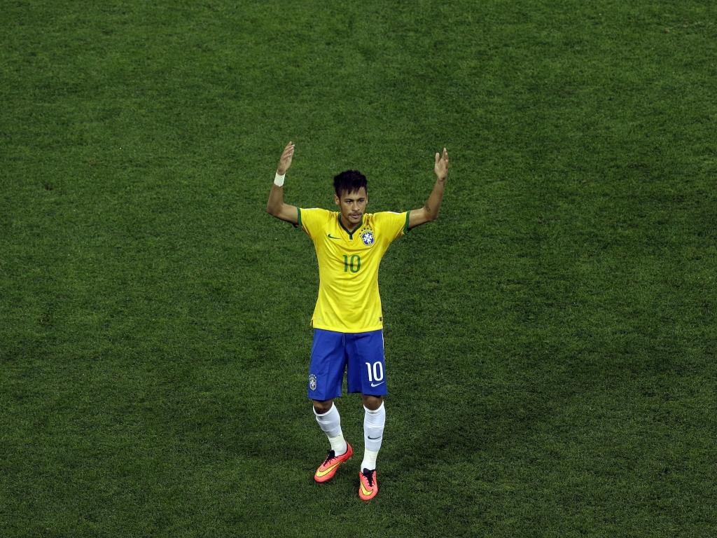 Neymar con la camiseta de Brasil - 1024x768