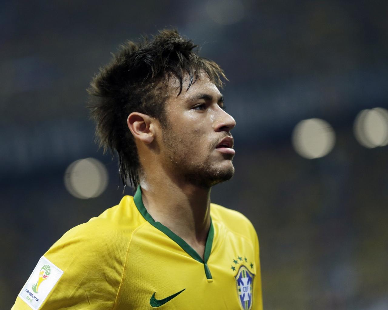 Neymar de Brasil - 1280x1024