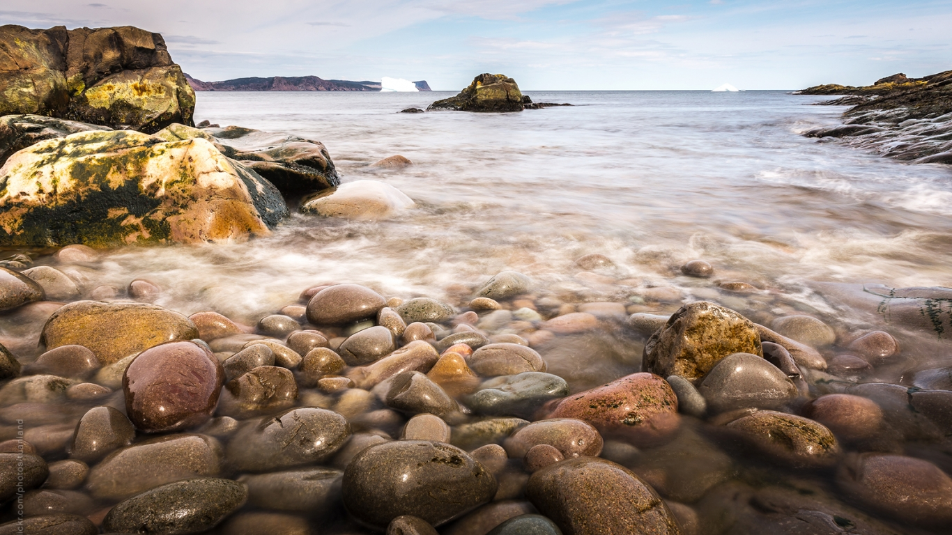 Playa de Newfoundland - 1366x768