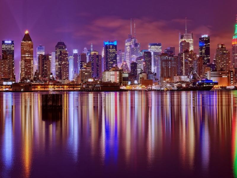 Reflejos de una ciudad - 800x600