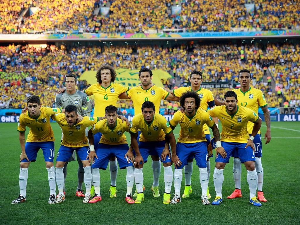 Selección de Brasil 2014 - 1024x768