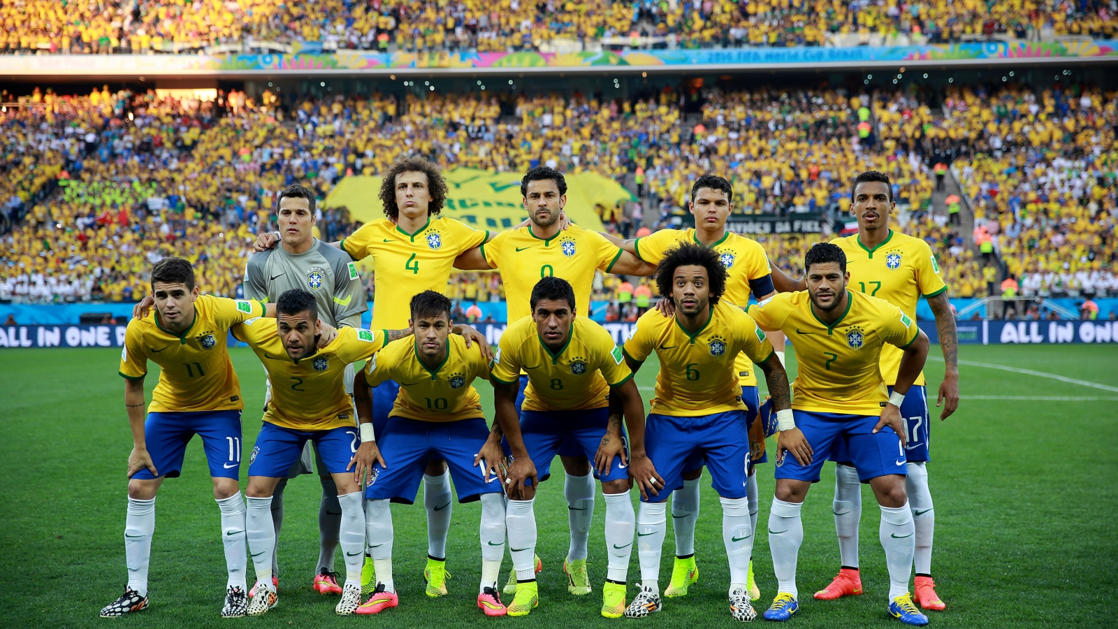 Selección de Brasil 2014 - 1600x900