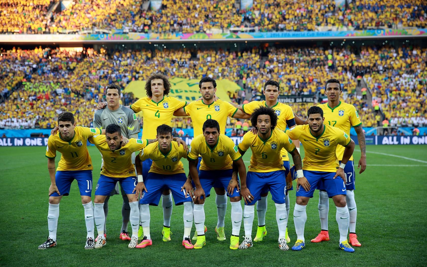 Selección de Brasil 2014 - 1680x1050