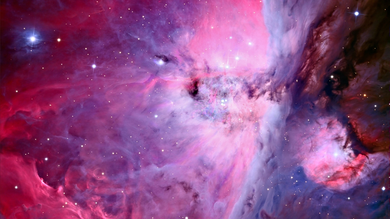 Textura de nebulosas - 1280x720
