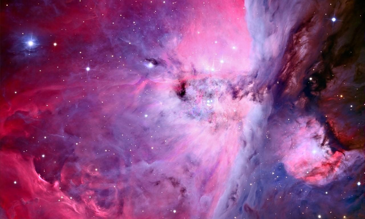 Textura de nebulosas - 1280x768