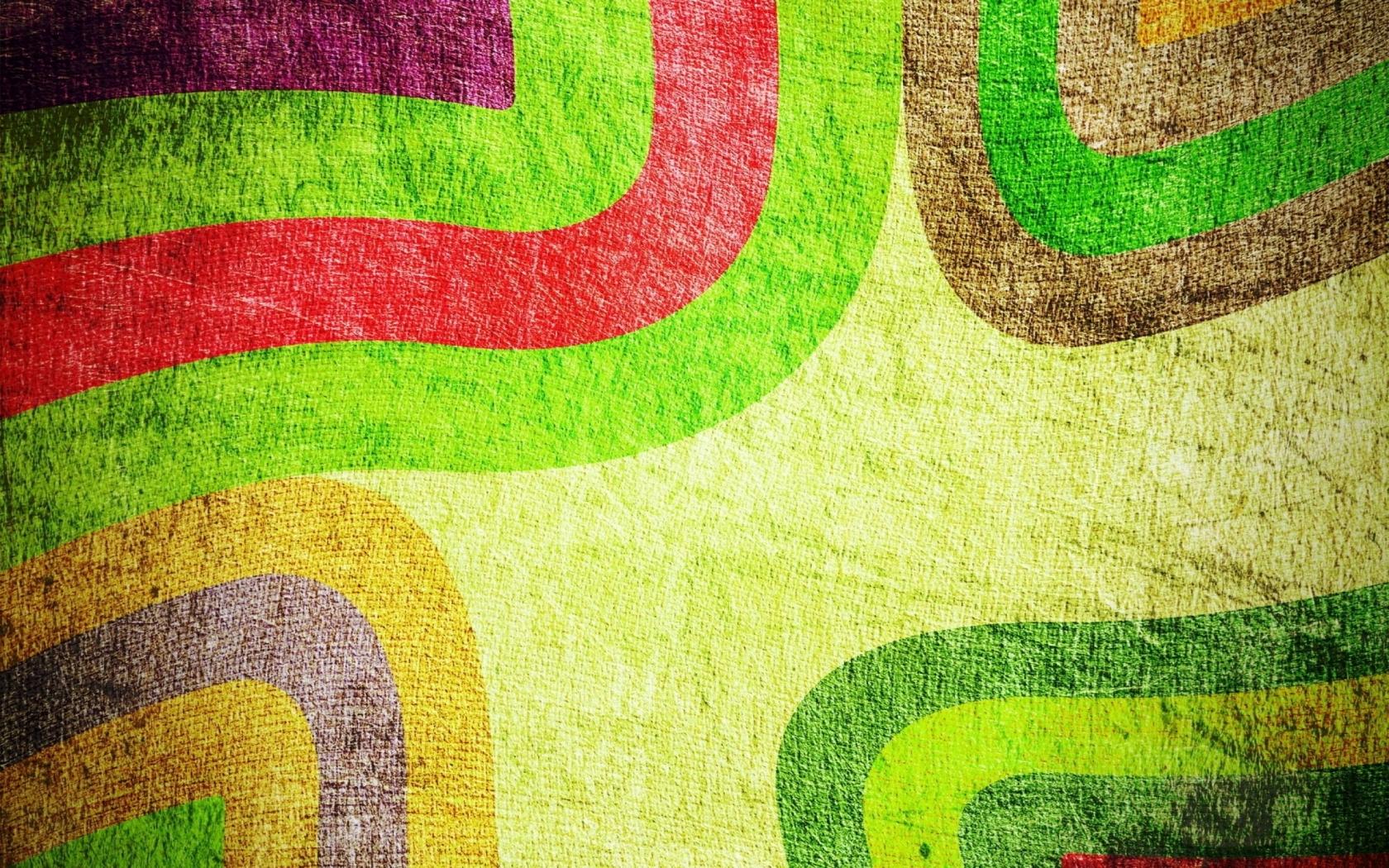 Textura de telas con adornos - 1680x1050