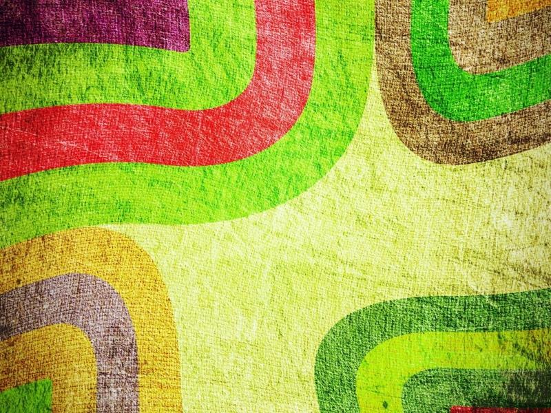 Textura de telas con adornos - 800x600