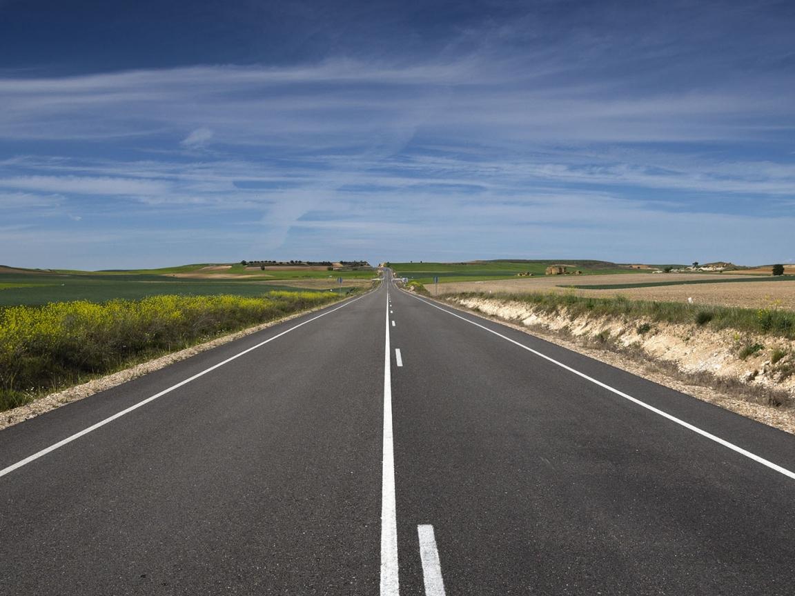 Vista panorámica de una pista - 1152x864