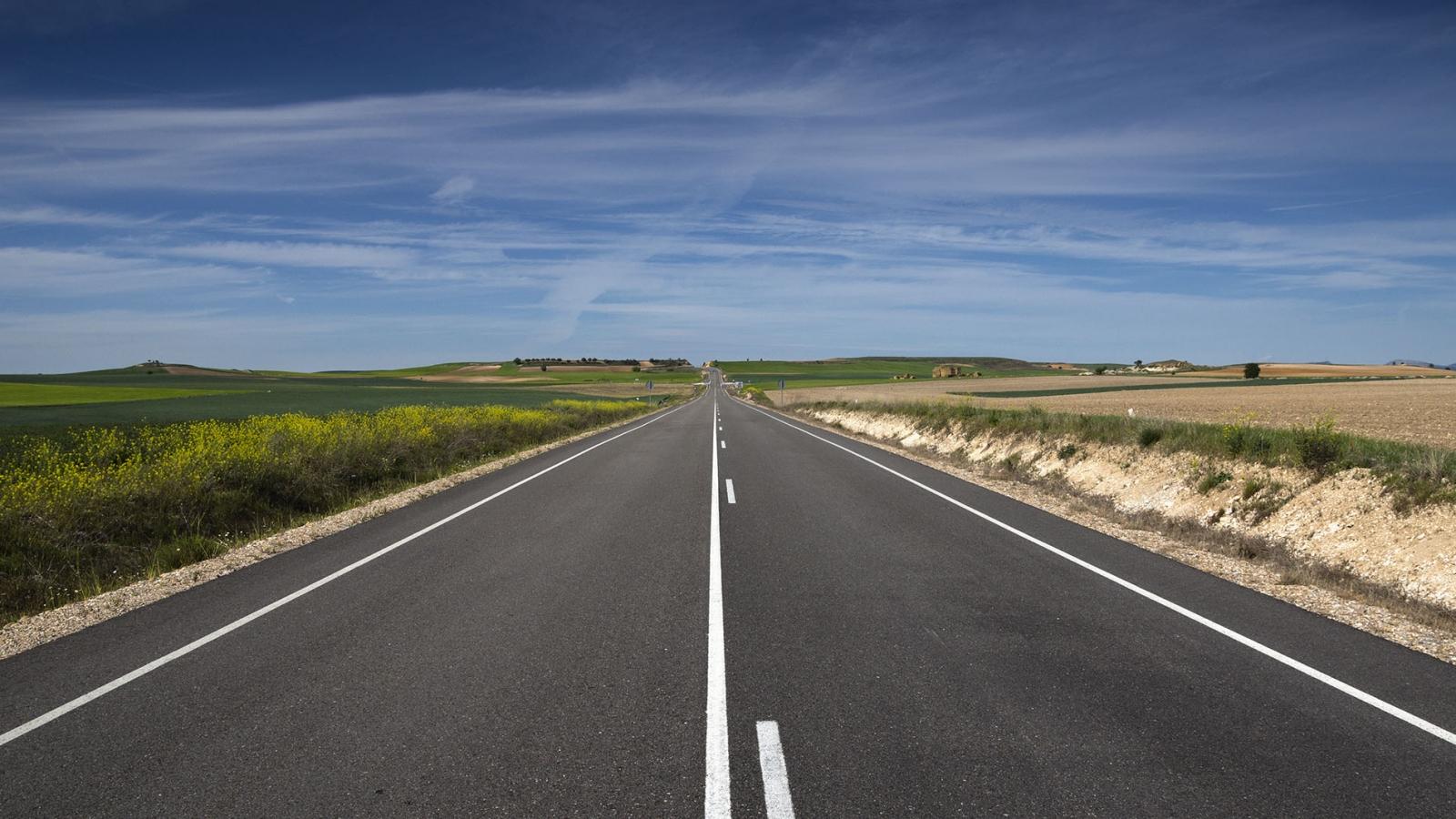 Vista panorámica de una pista - 1600x900