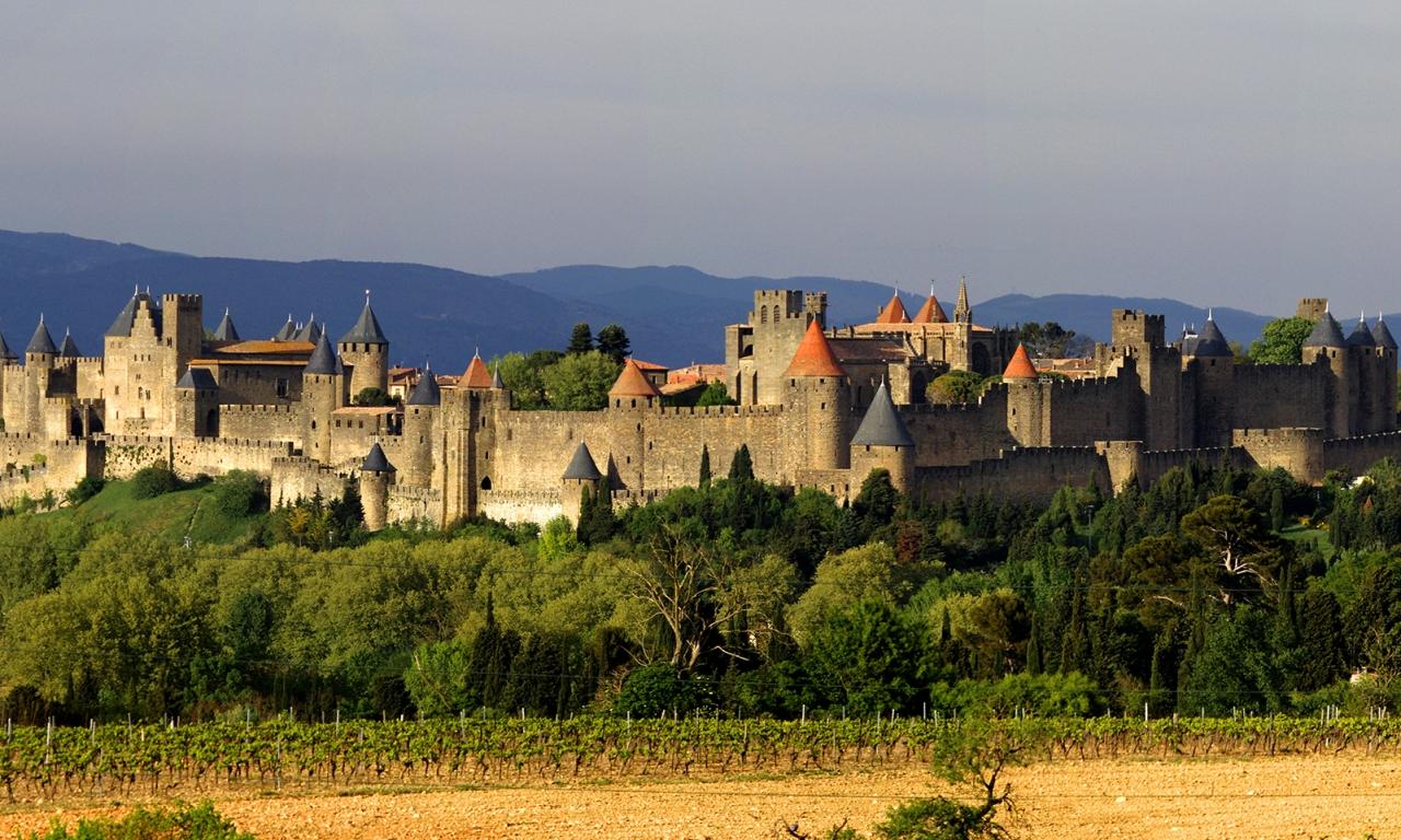 Castillos de Carcassonne - 1280x768