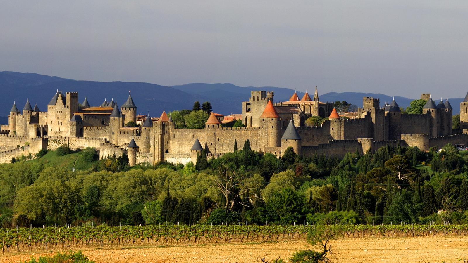 Castillos de Carcassonne - 1600x900