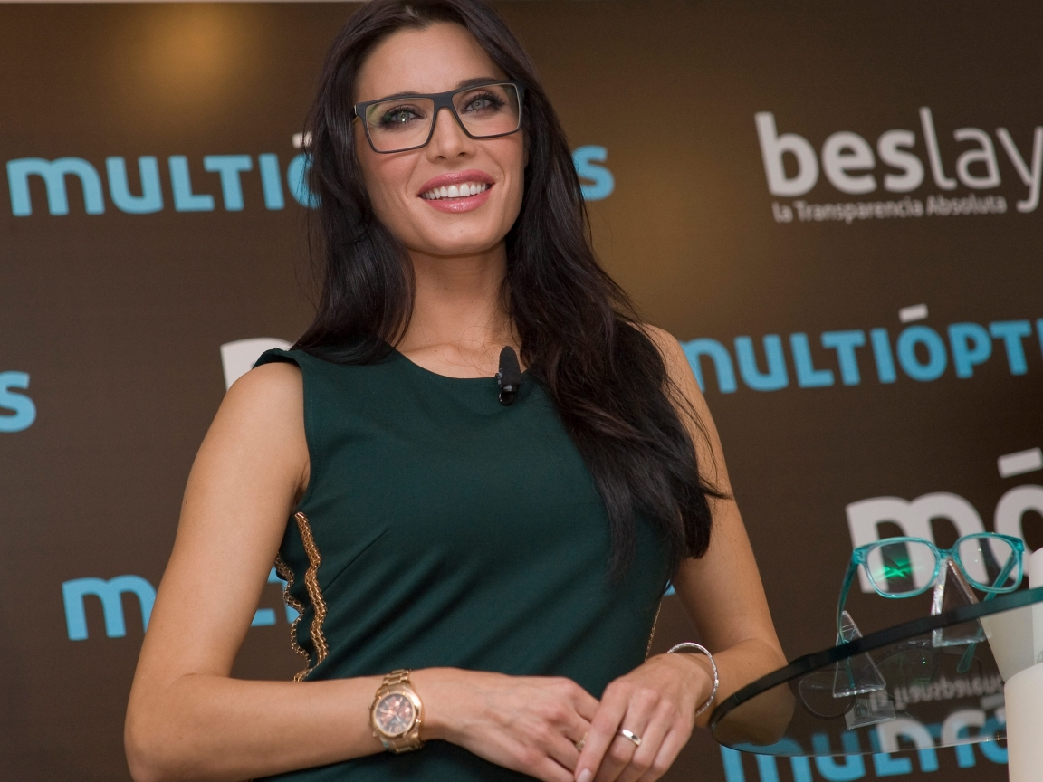 Pilar Rubio con lentes - 1152x864