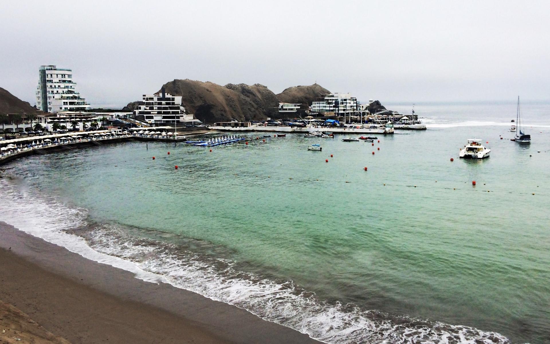 Playa Los Embajadores - Lima Sur - 1920x1200