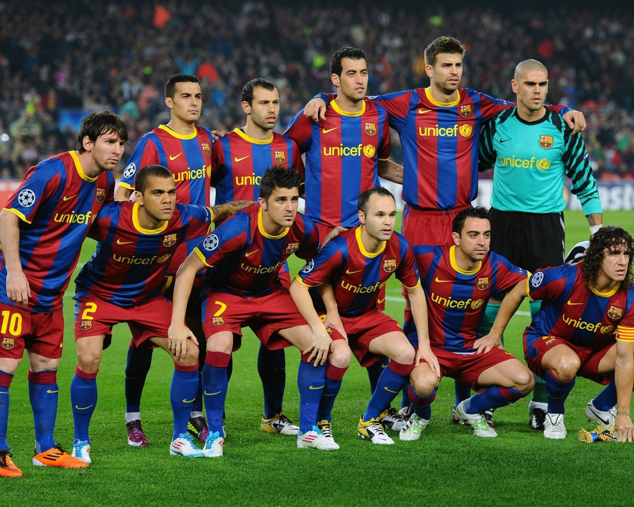 Selección del Barcelona 2015 - 1280x1024
