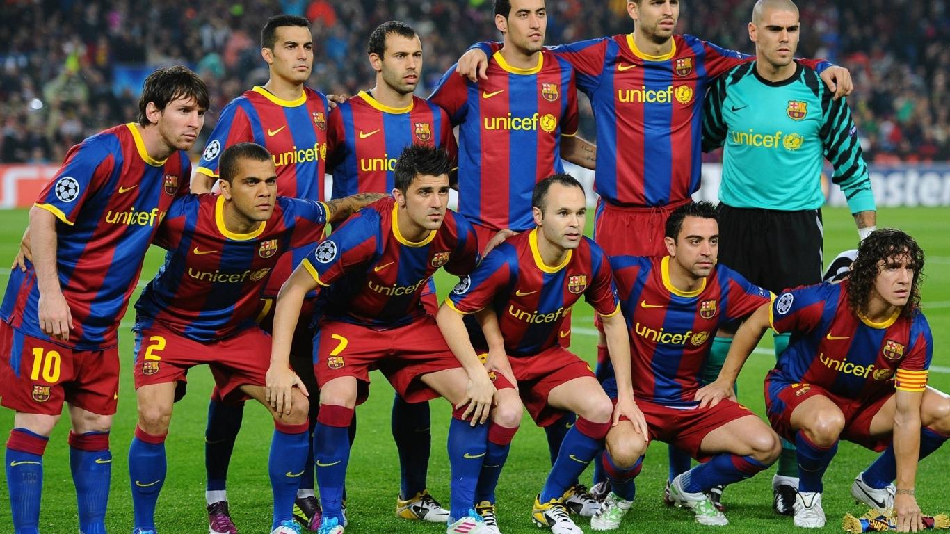Selección del Barcelona 2015 - 1366x768