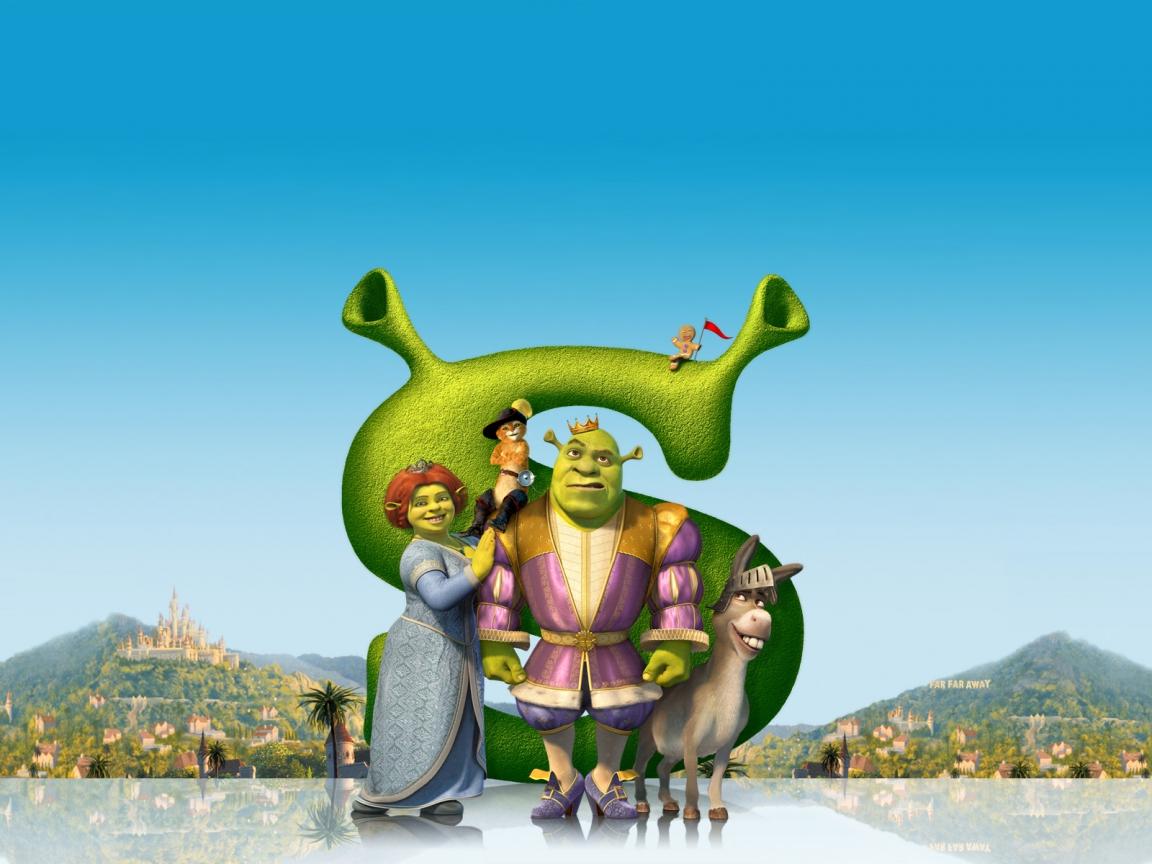Shrek, la película - 1152x864