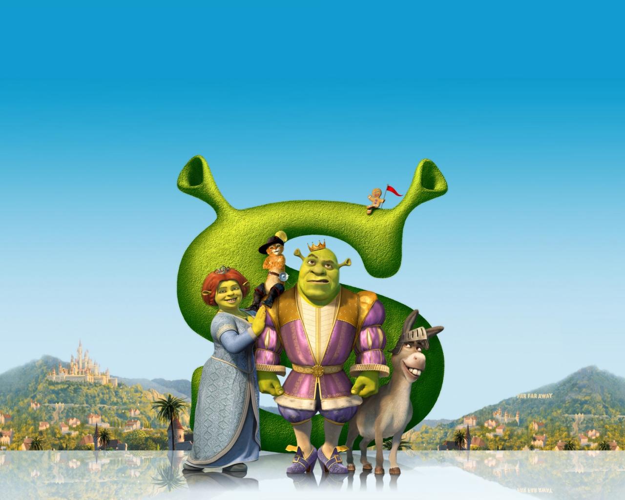 Shrek, la película - 1280x1024