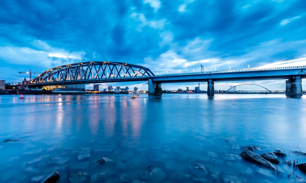 El puente en Nijmegen - 1280x768