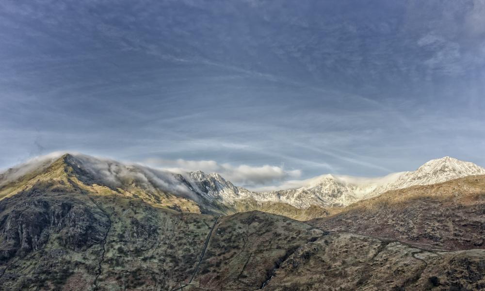 Fotografías de Snowdon - 1000x600