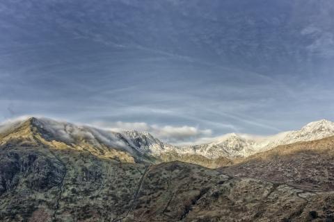 Fotografías de Snowdon - 480x320