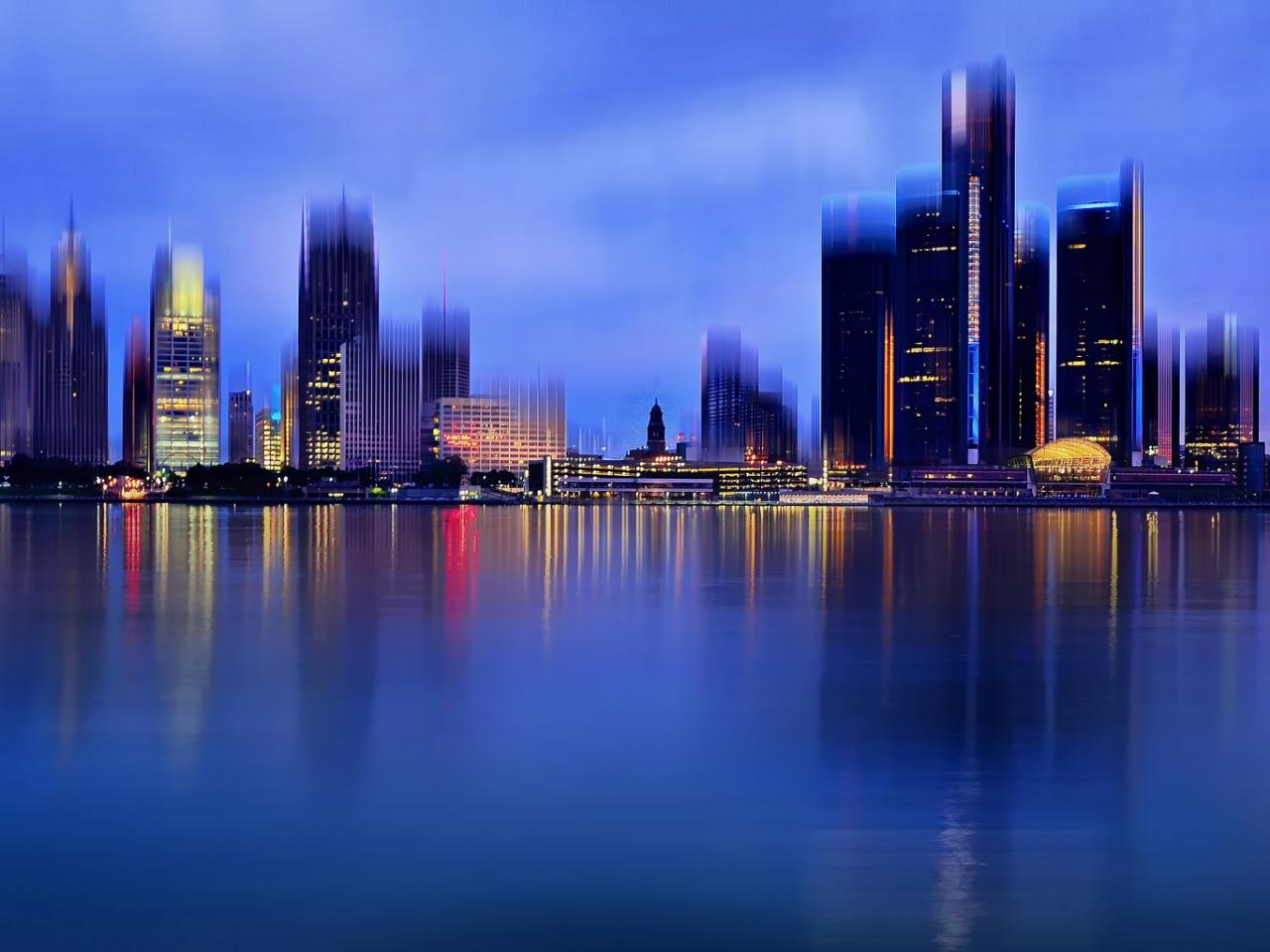 La ciudad de Detroit - 1280x960