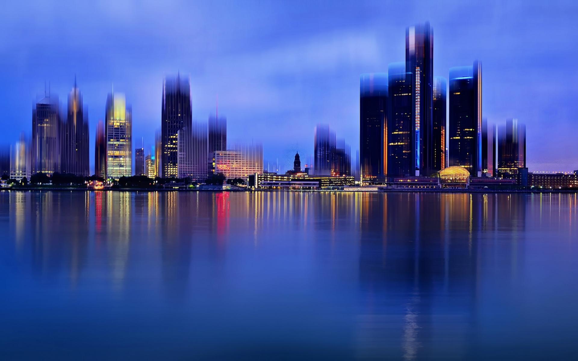 La ciudad de Detroit - 1920x1200