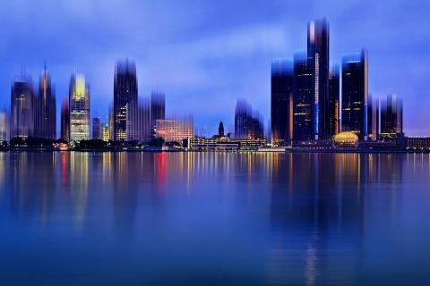La ciudad de Detroit - 480x320