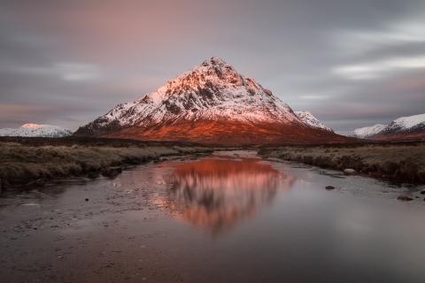 Montañas y lagos - 480x320
