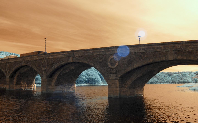 Puentes y puestas de sol - 1440x900