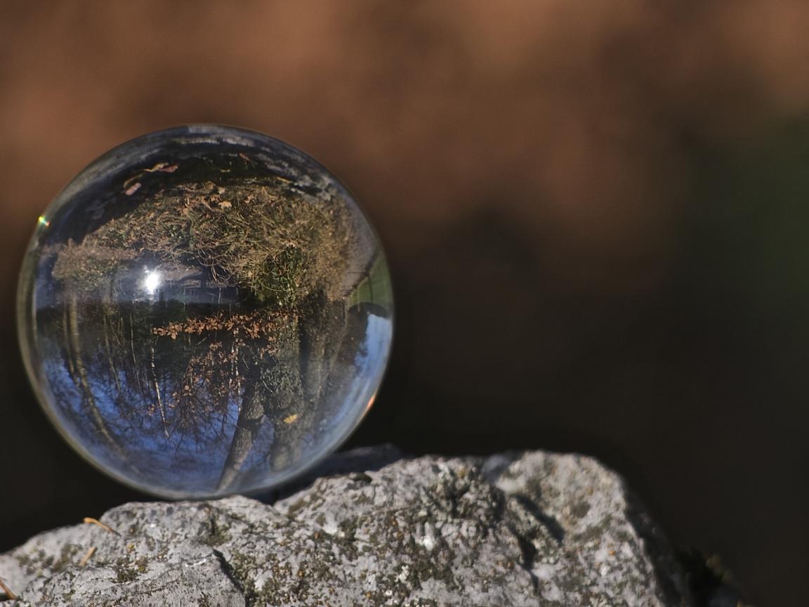 Una esfera transparente - 1152x864