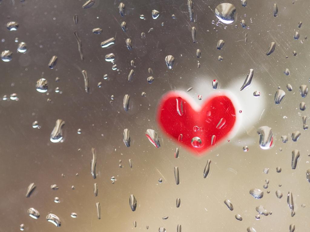 Corazones de San Valentín - 1024x768