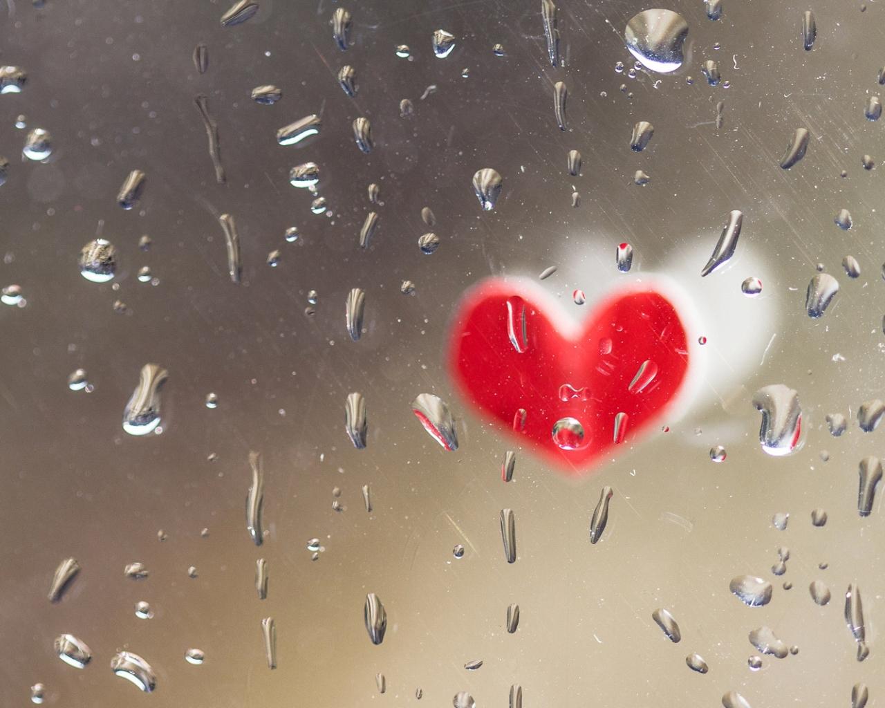 Corazones de San Valentín - 1280x1024