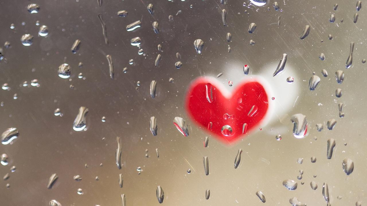 Corazones de San Valentín - 1280x720