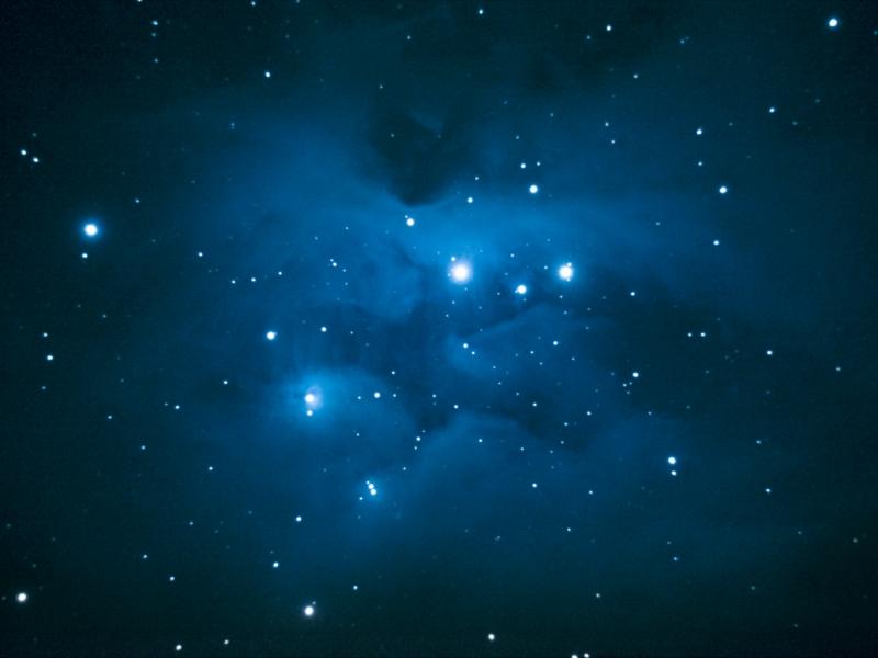 Fondos negros de estrellas - 800x600