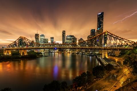 Fotografía de puentes y rayos - 480x320