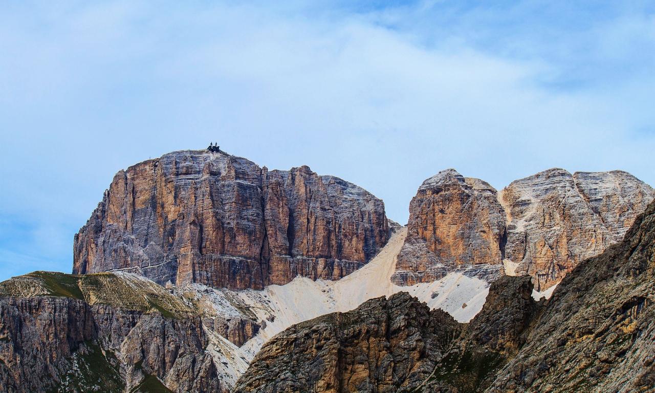 Grandes montañas - 1280x768