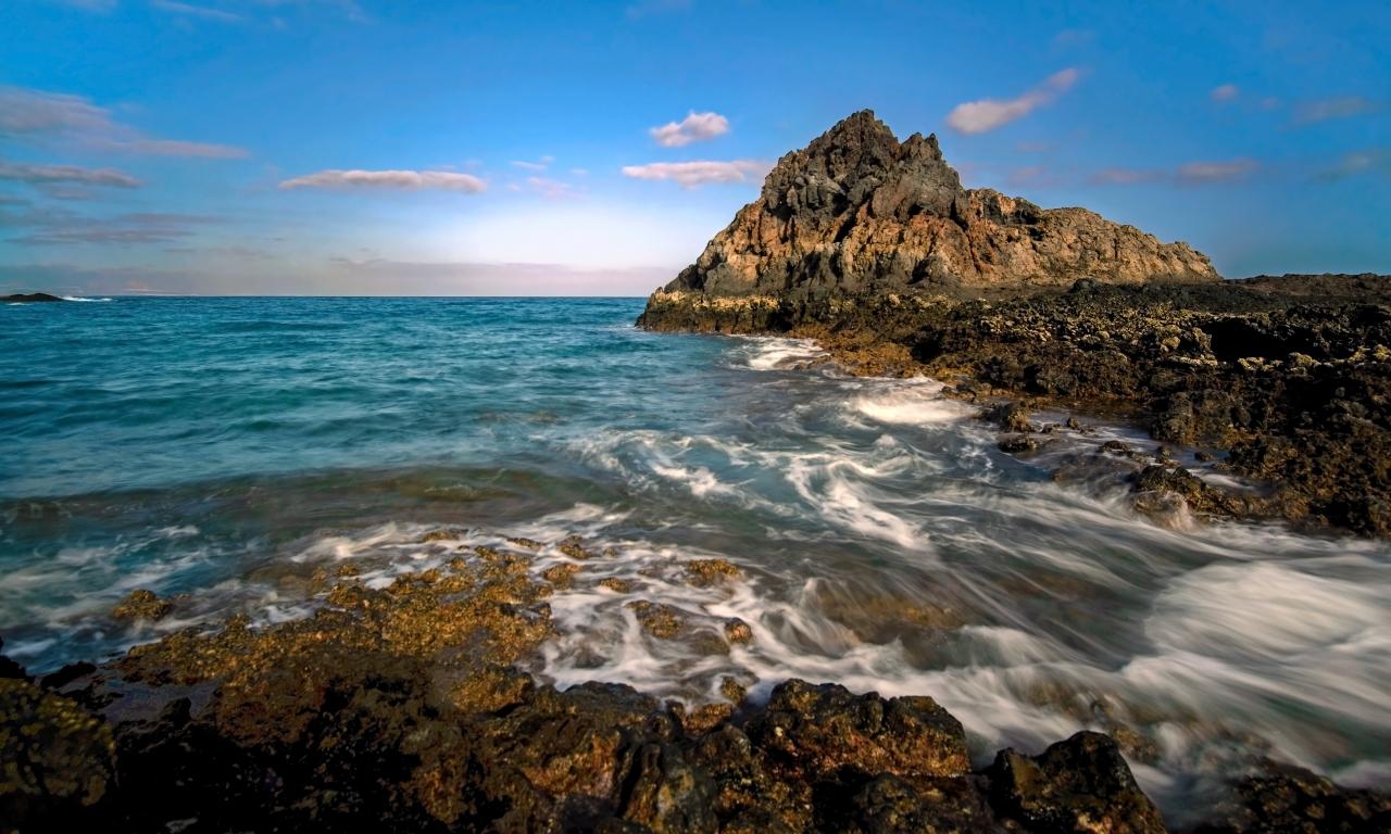Isla de Lobos en España - 1280x768