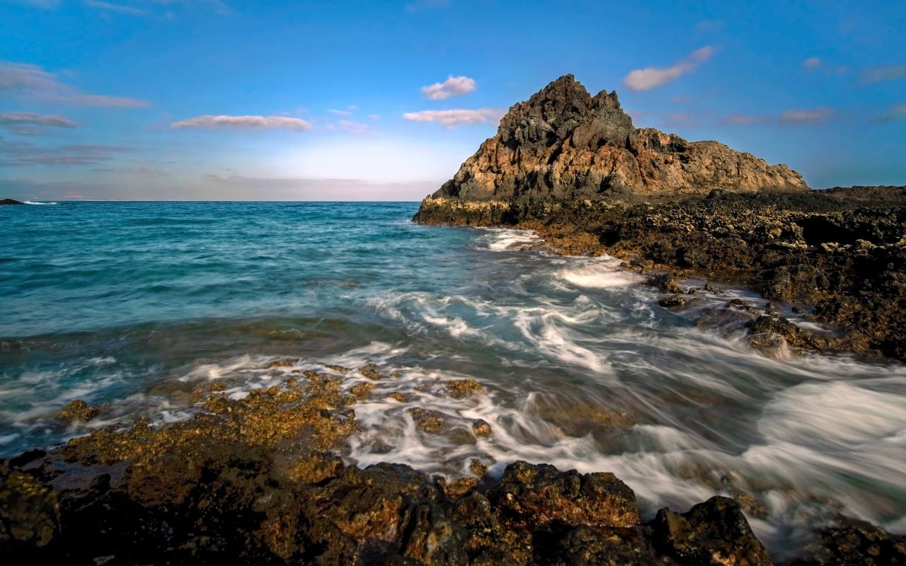 Isla de Lobos en España - 1280x800