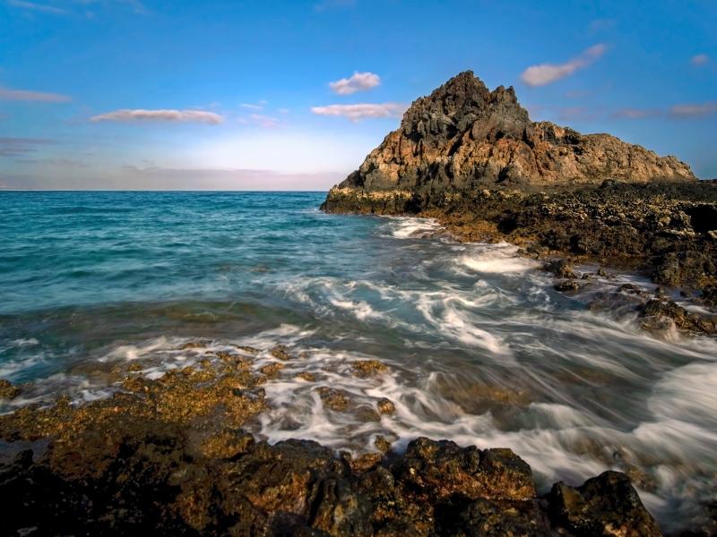 Isla de Lobos en España - 800x600
