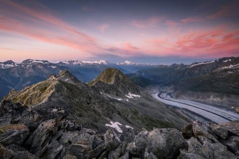 Montañas en los Alpes - 480x320