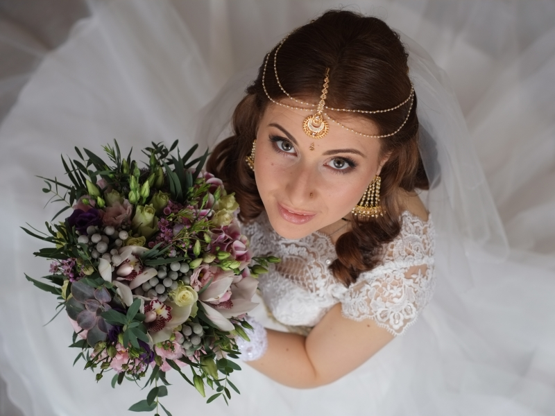 Peinados de novias - 800x600