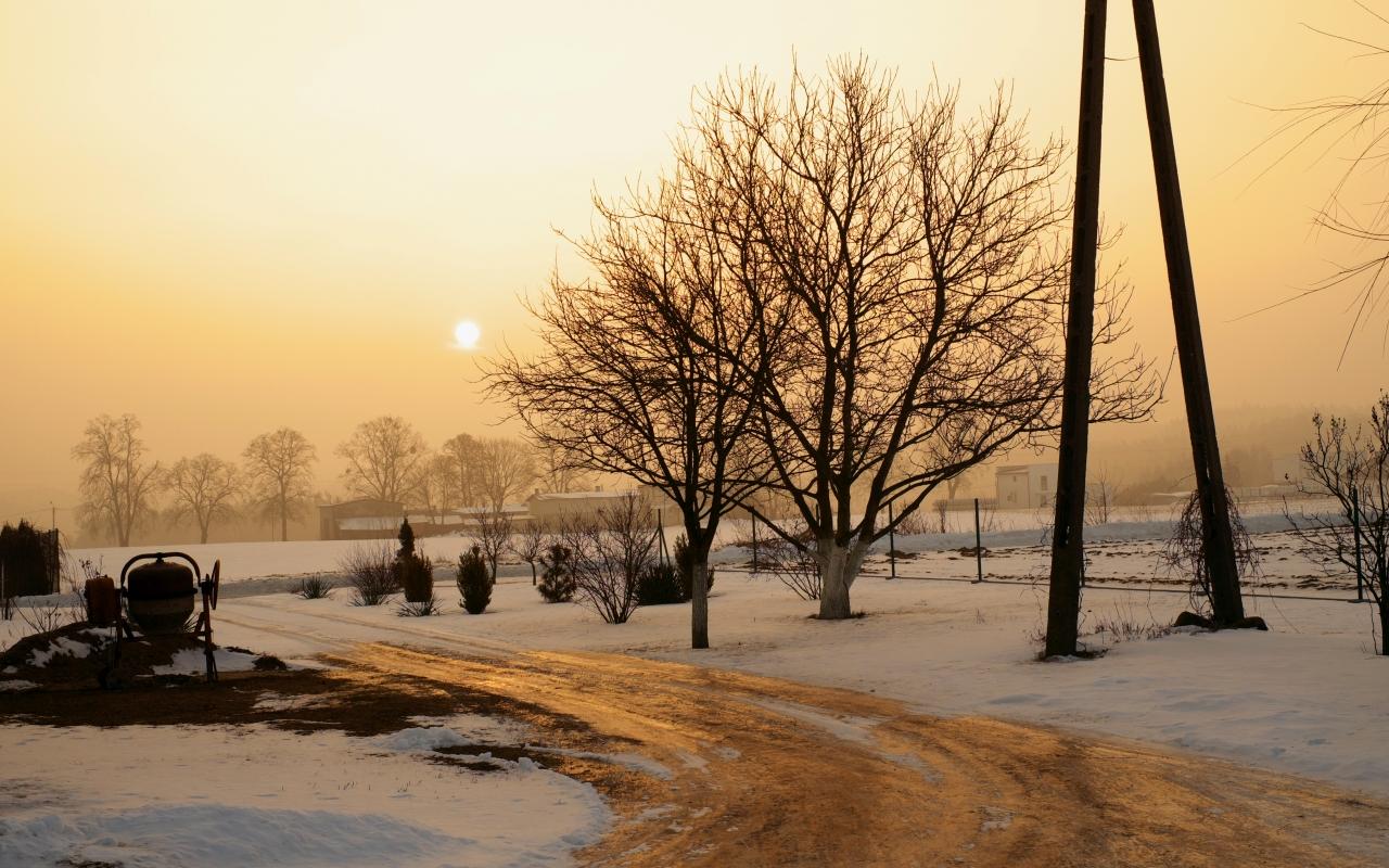Una fotografía en la mañana - 1280x800