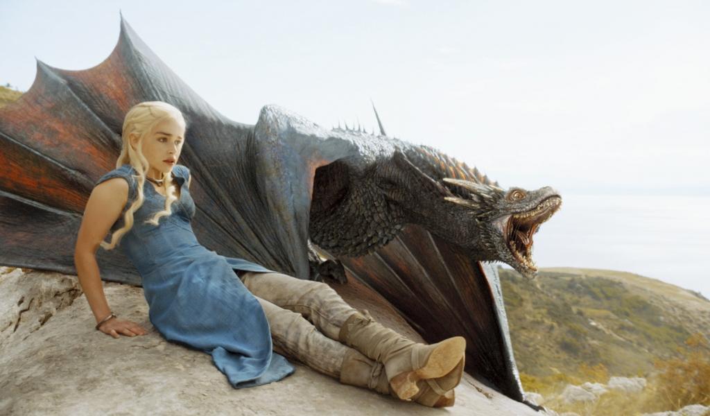 Daenerys, la madre de los dragones - 1024x600